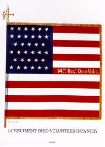14th ovi regimental flag